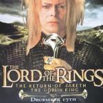 David Bowie Gospodar Prstenova poster
