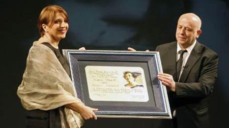 Mirjana Karanovic nagrada Zanka Stokic