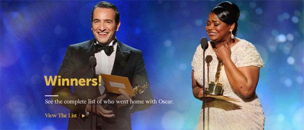 84 nagrade Oskar 2012