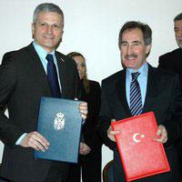 na potpisivanju protokola o saradnji u kulturi sa Turskom